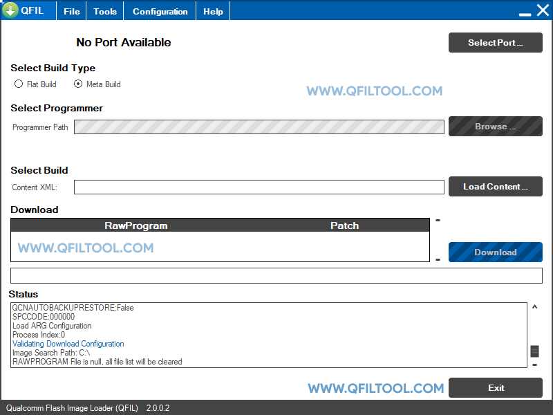 QFIL Tool v2.0.0.2