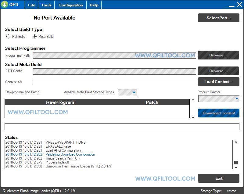 QFIL Tool v2.0.1.9